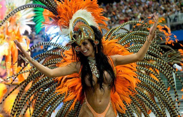 Ежегодный карнавал в Рио